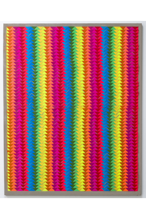 Rumspringa Quilt: Double Double Rainbow