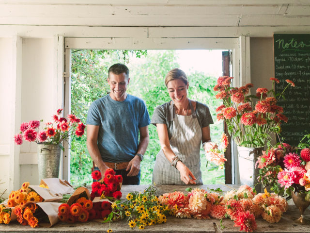 Erin and Chris of Floret
