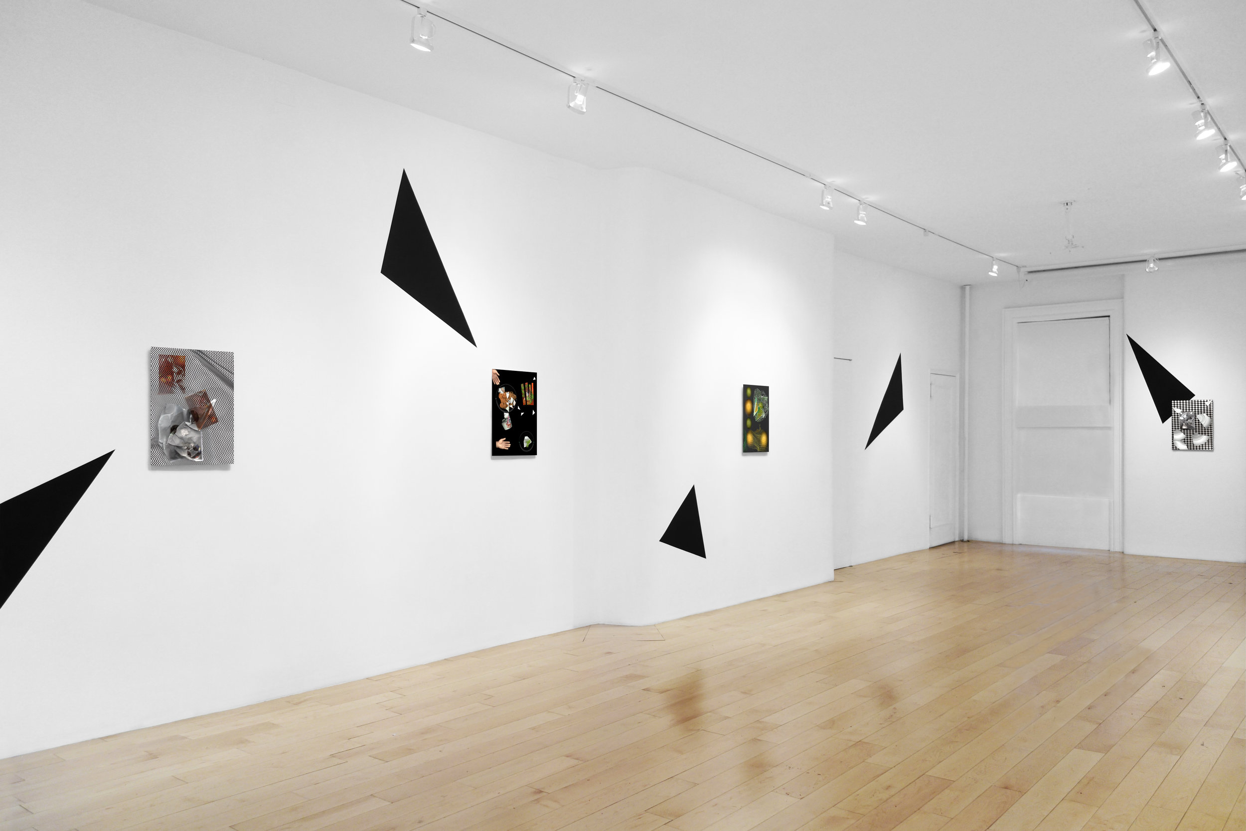 Installation view, wall 3