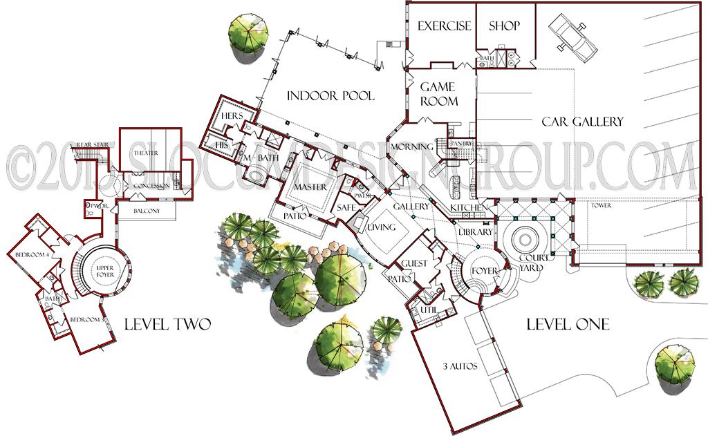 Residence Floor Plans