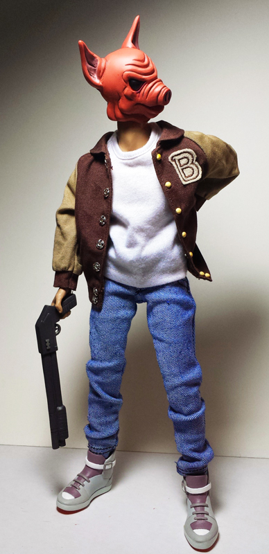 HOTLINE MIAMI Jacket figure