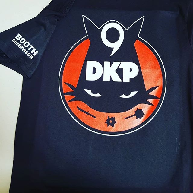 You know #9DKP #booth #supervisors get their own tees right? See you soon @rosecitycc