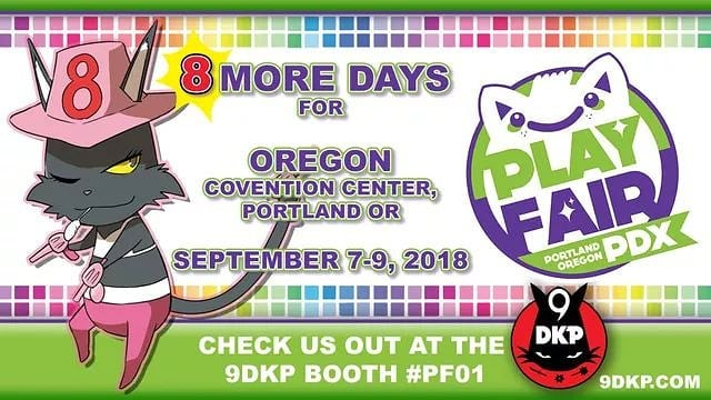 Only 8 days left until the next @9dkpcom TCG TOURNAMENT takes place at @playfairshows #9DKP