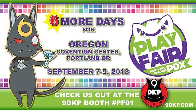 Only 6 days left until the next #9dkp TCG TOURNAMENT takes place at @playfairshows