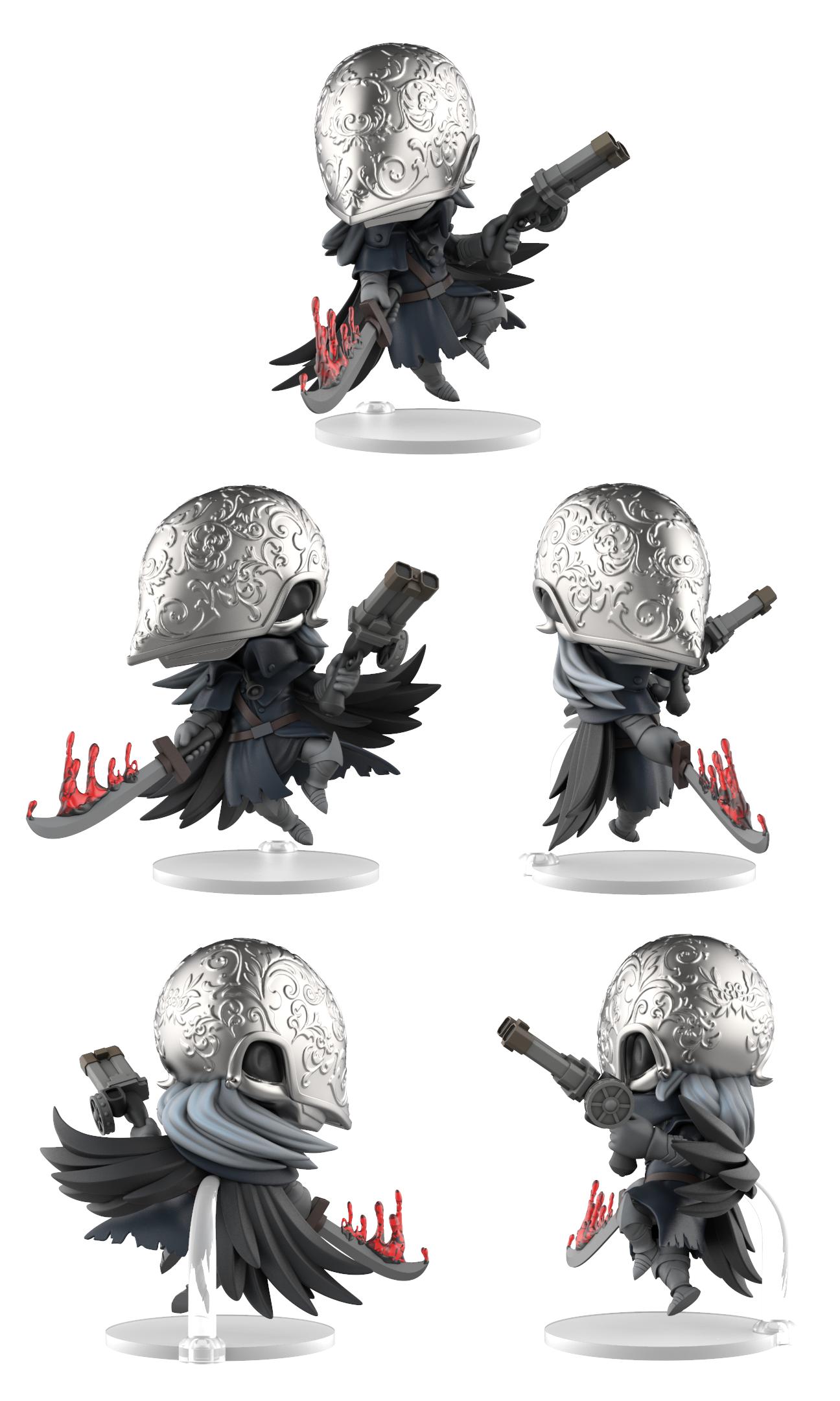 Bloodborne Bloody Crow