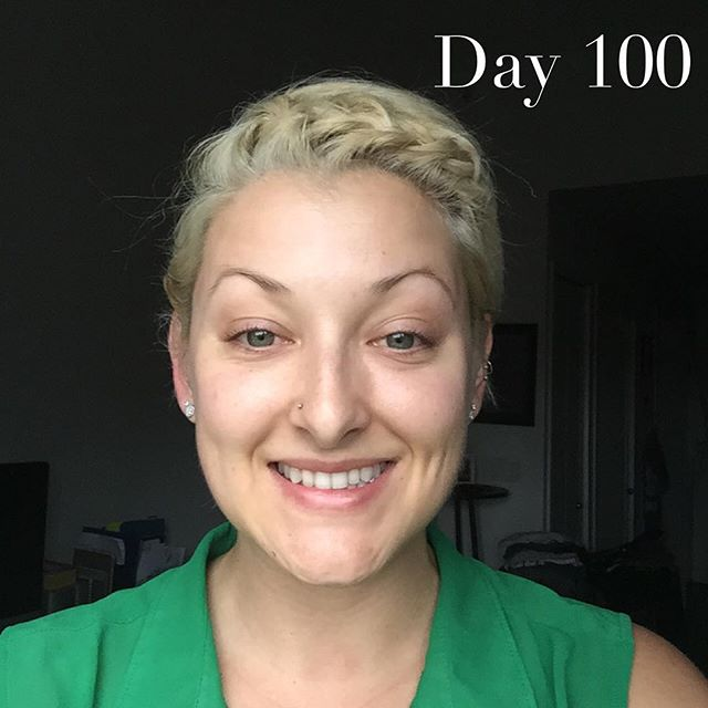 Day 100 // This journey has been nothing short of incredible // This project has been challenged me & my love affair with makeup // Read more about my journey on the blog // Link in bio // #MakeupFree #NoMakeup #FreshFaced #Barefaced #RealBeauty #RawBeauty #RawandReal #Beauty #NaturalBeauty #FlawlessFace #Flawless #100DaysWithoutMakeup #100DayChallenge #100DayProject #The100DayProject #IWokeupLikeThis #Selfie #ShamelessSelfie #RealNotRetouched #RealGirls #NakedSkin #RadiantSkin #GlowingSkin #GlowySkin #GetYourGlowOn #GlowFromWithin #HealthySkin #NoFilter