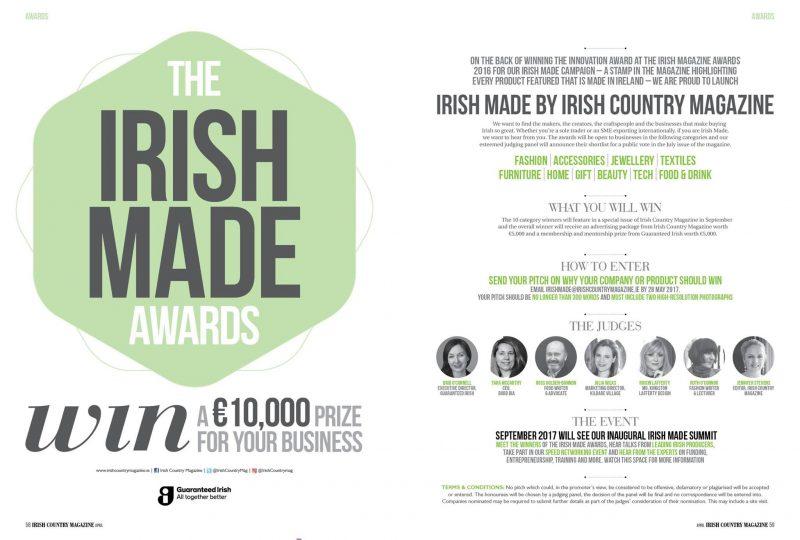 Irish Made Awards by Irish Country Magazine -