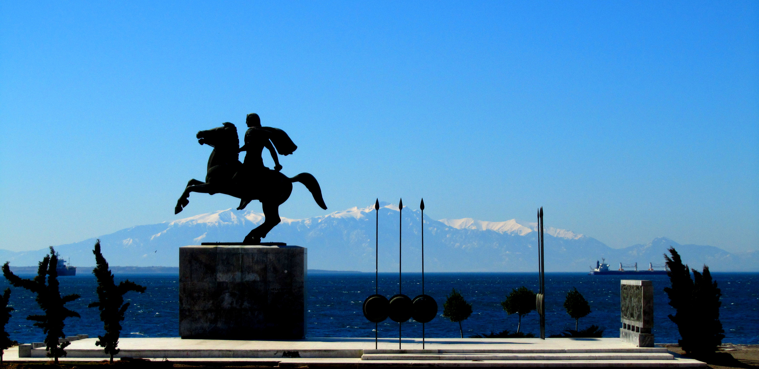 Statue of Alexander the Great, Thessaloniki, Greece