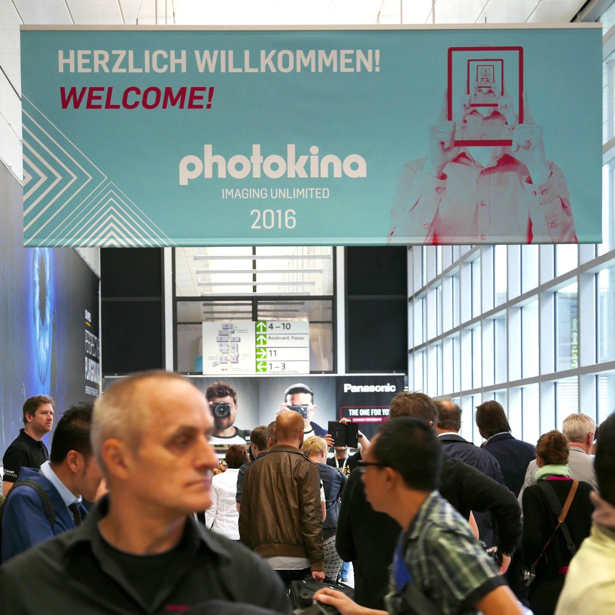 Welcome to Photokina 2016!