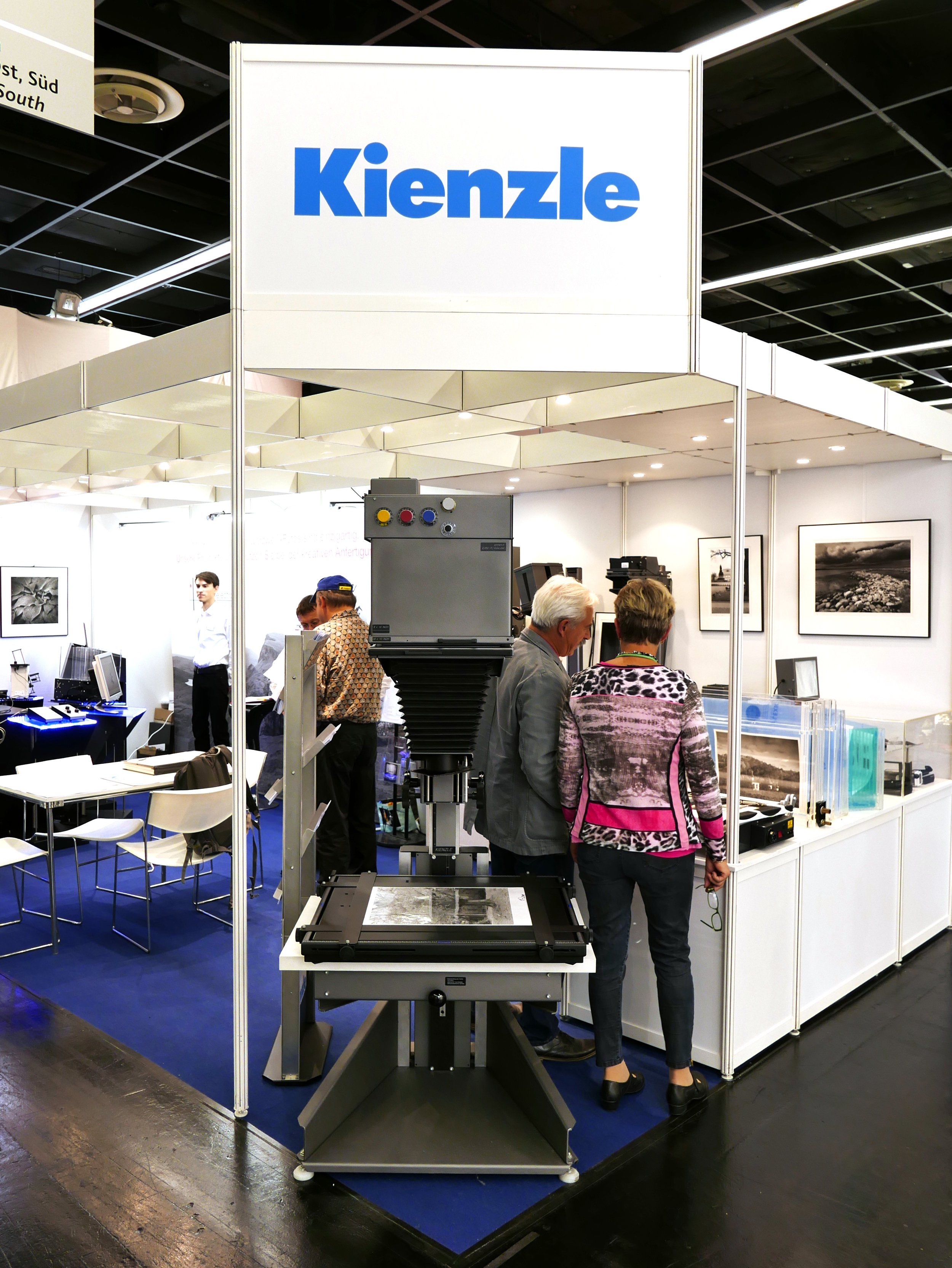 Kienzle & Heiland Electronic booth