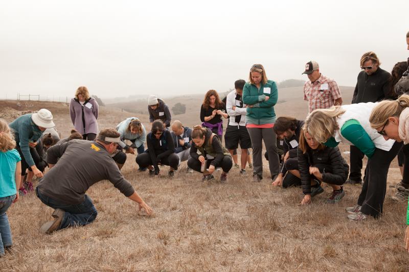 Loren teaching us about the soil