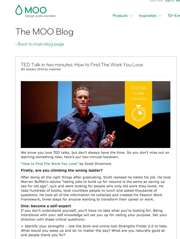 Moo Ted Talk Post