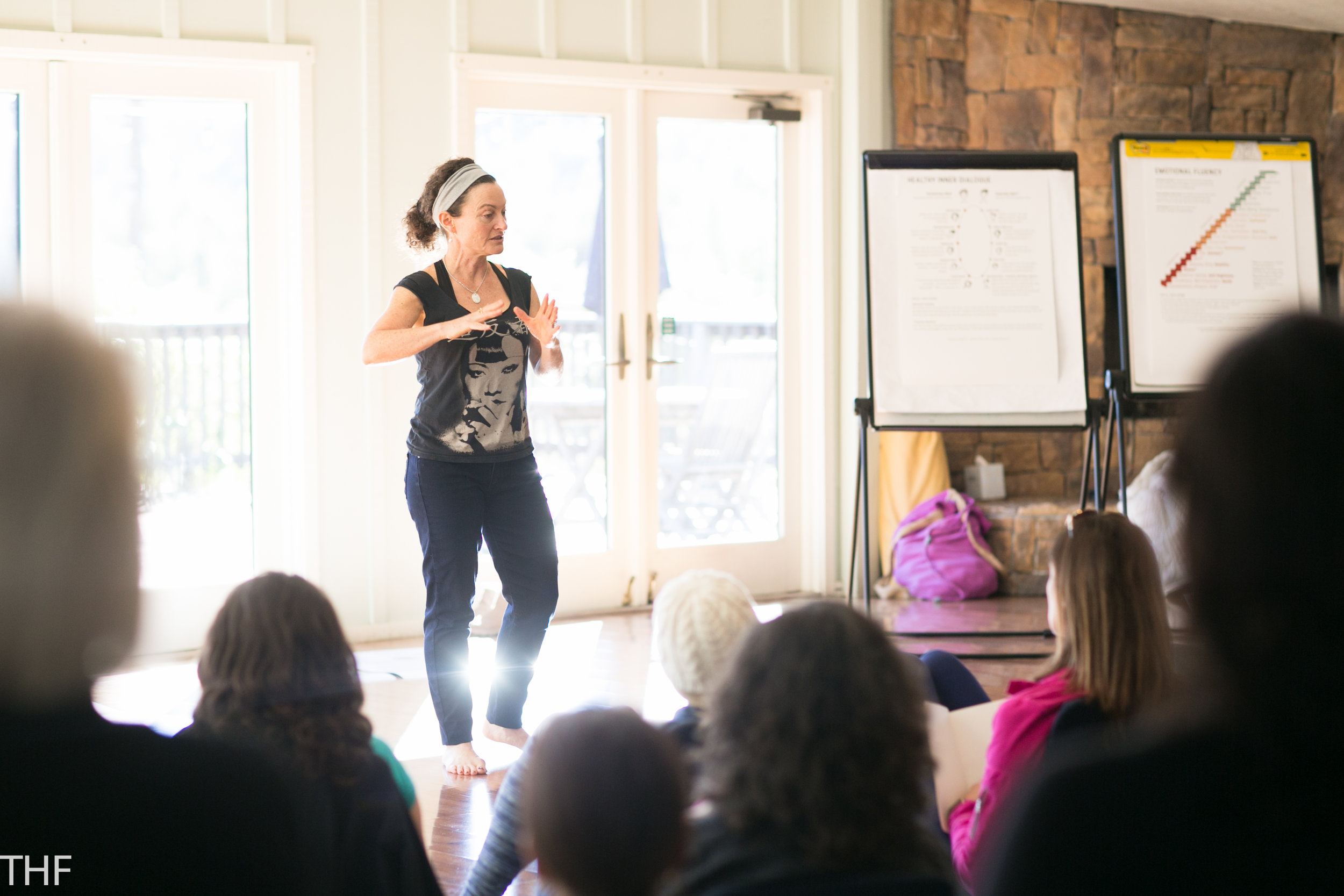 Life Coach Emily Boorstein of the Inner Fitness Program