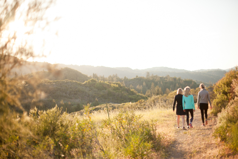 Ancestral health, hiking and yoga retreats Northern California