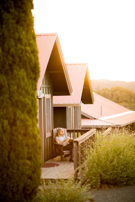 Immersion wellness retreat in Northern California