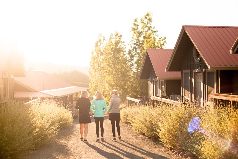 Women's retreat in Northern California
