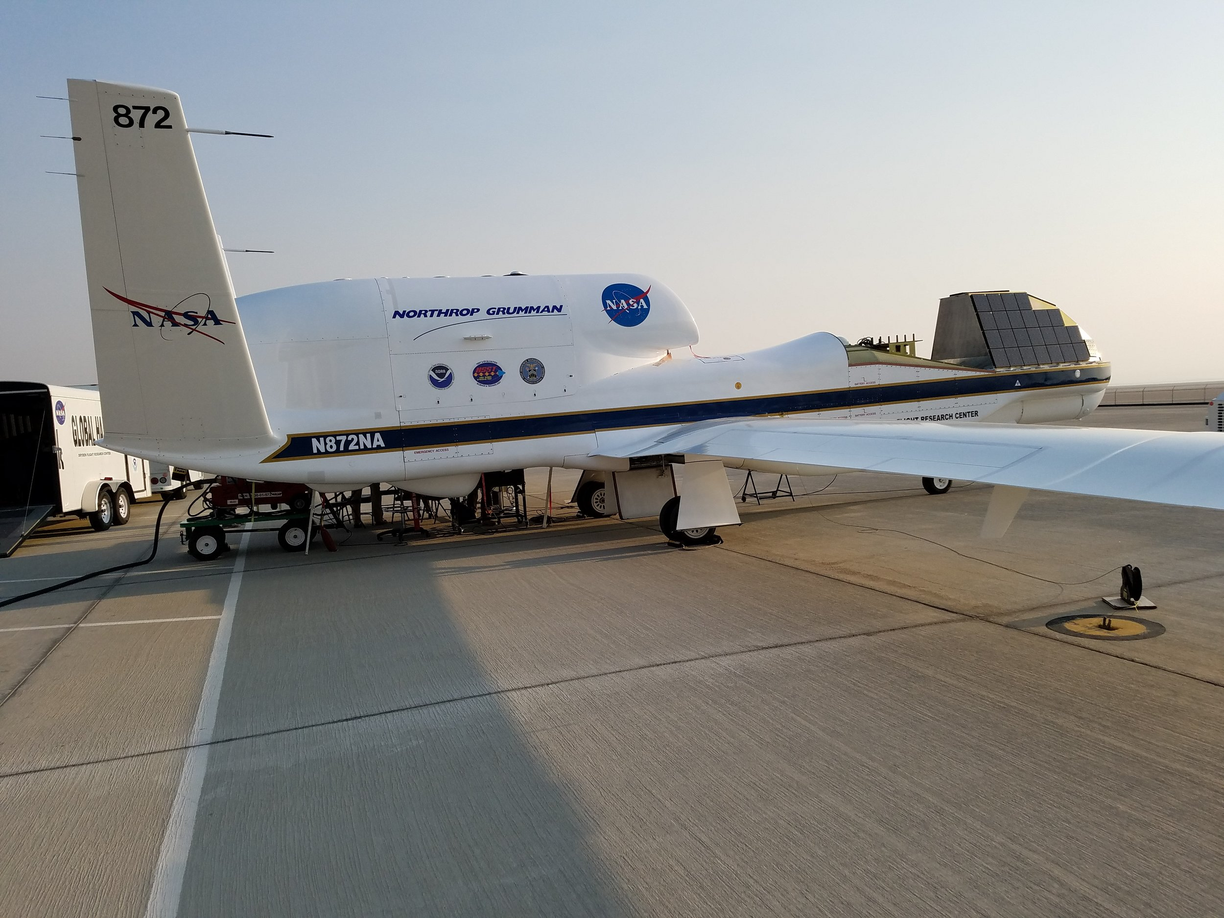 Current Generation Digital Beamforming Array on NASA Global Hawk.