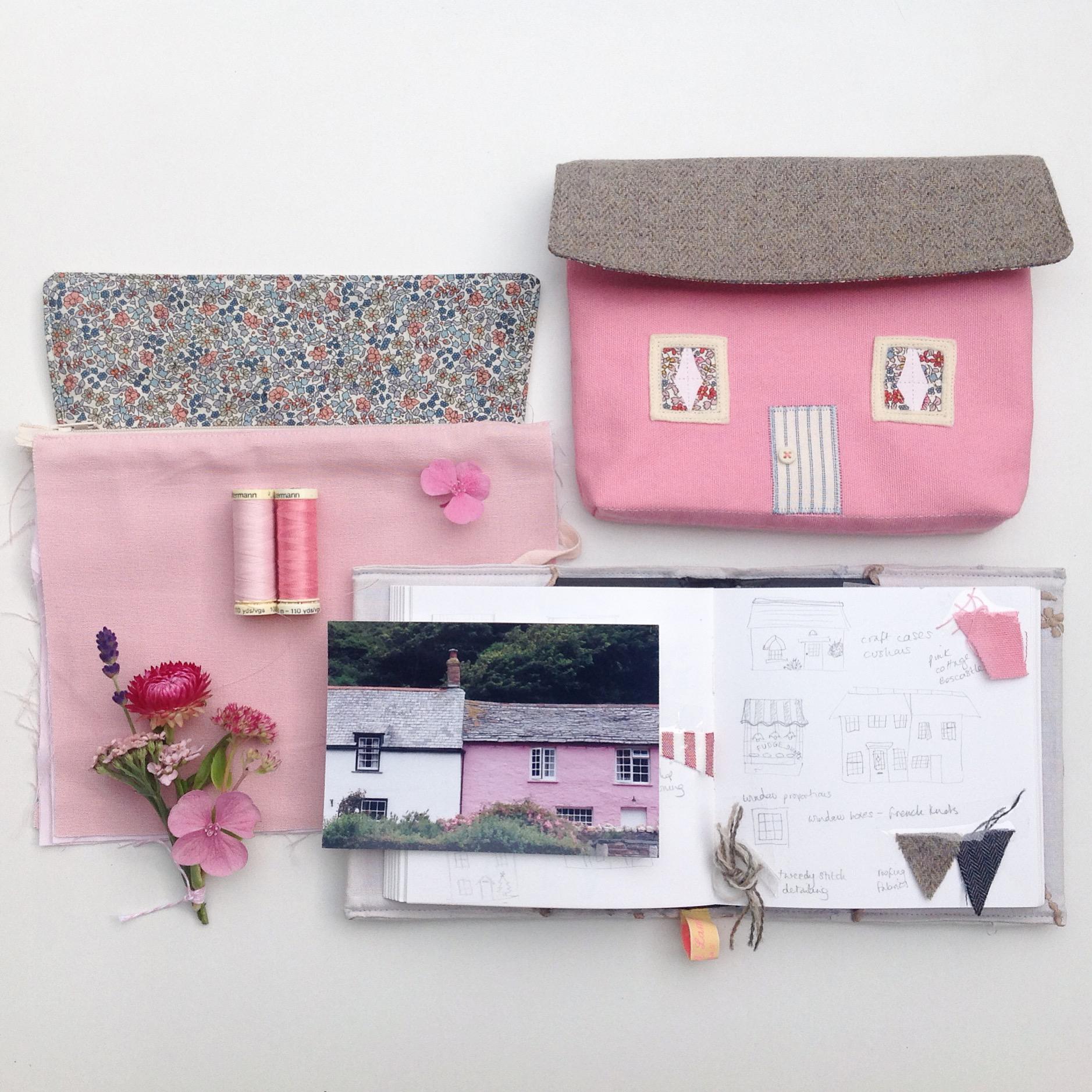 Dark Pink Cottage
