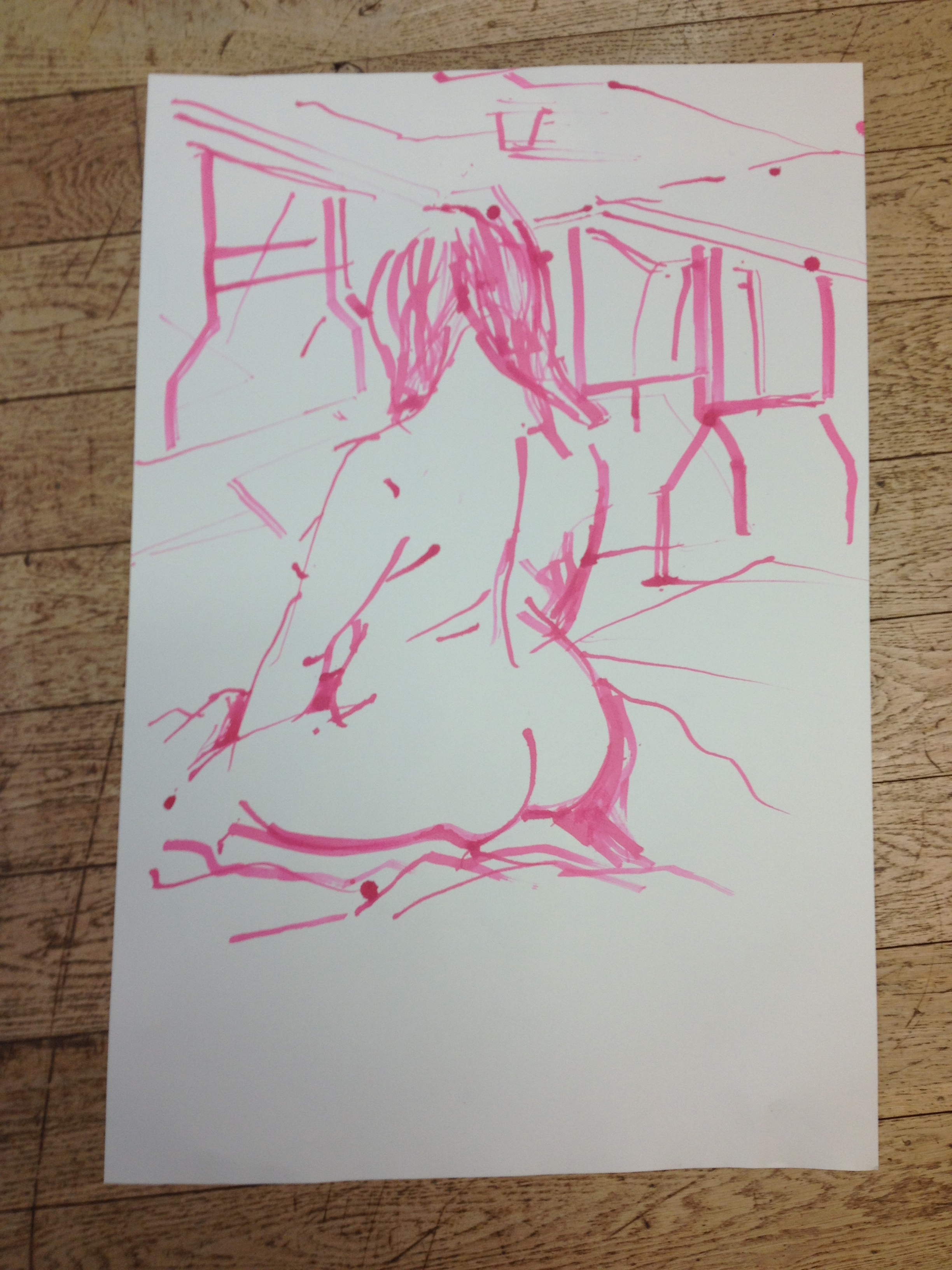 Possible contender for best butt drawing