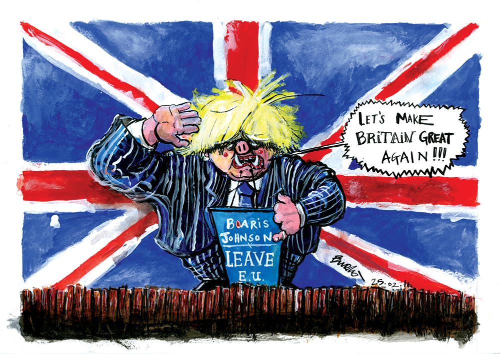 Sunday Cartoon - Boaris de Pfeffel Trumping the Union (13.03.16)(LR).jpg