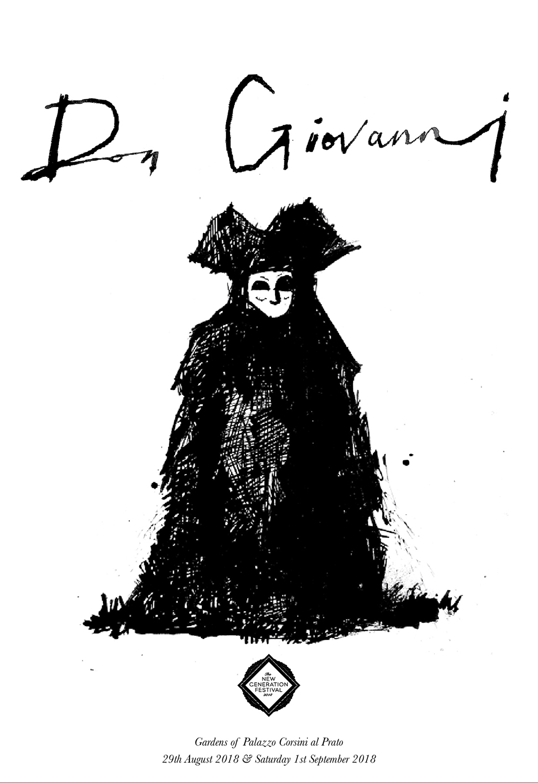 Poster artwork for Don Giovanni