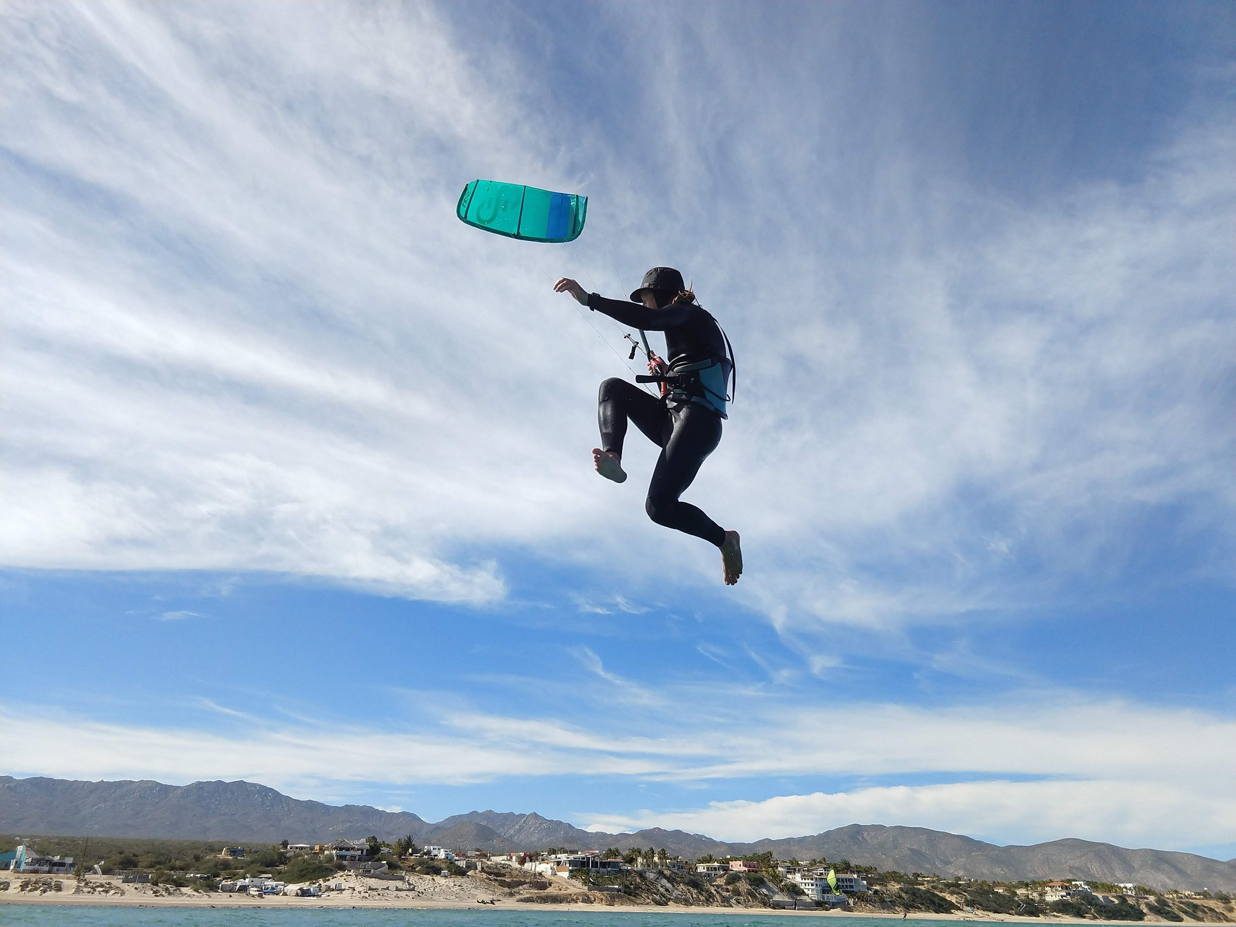 Luke Gandy, Texas - Luke is a goofy, lighthearted southern boy who loves to go out on a sweet sweet dance with his foil. Well, this pic is him just dancing with his kite. Great with kids and beginners, Luke's patience and encouraging instruction will get you riding.