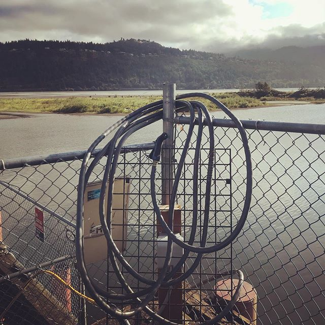 Why are we posting a picture of our hose with a view? Because if you had to sit around and clean all day, you should have a damn good view while doing so! The humble hoes gets such little credit as a member of the team at Cascade Kiteboarding!