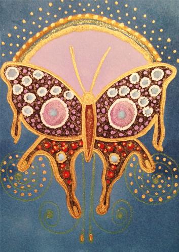 Glittering Butterfly Gene Manuel