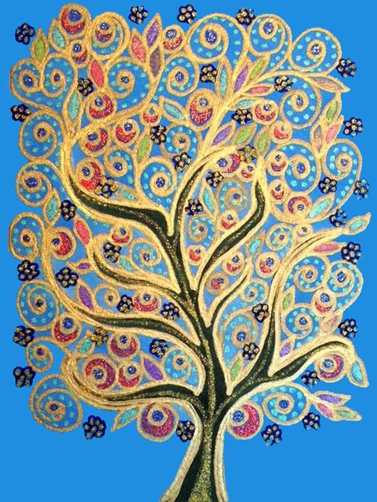 Tree of Golden Life by Gene Manuel