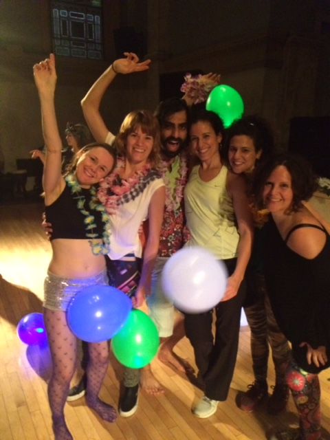 At the Morninggloryville Dance Party