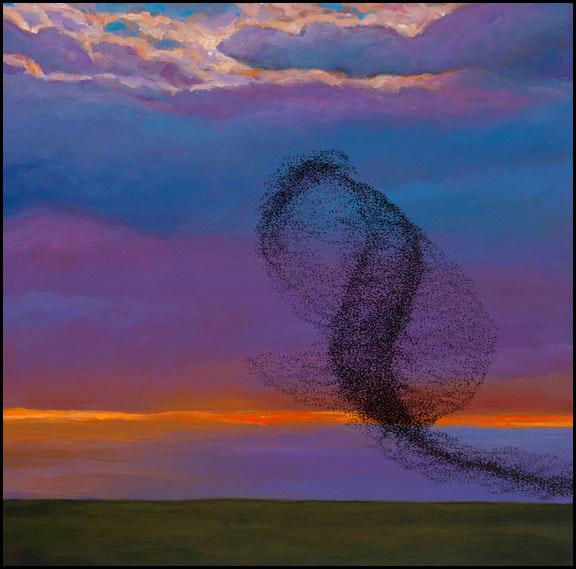 Twilight Serenade Painting by Johnathan Harris