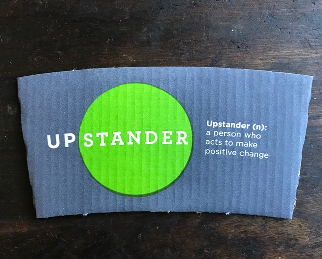 Pax and Starbucks know what's up! NOW is the time to be an UPstander!