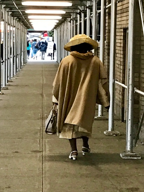 I love this lady. She is NOT having a bad day. The people walking the streets of Washington Heights are so interesting!