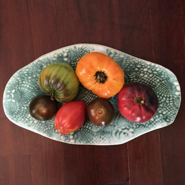 Platter made by Lisa of   Harper Kennedy Ceramics