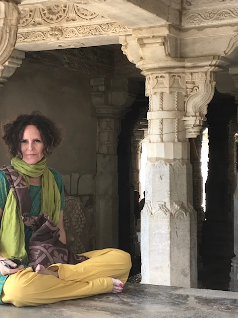 At the   Ranakpur Jain Temple in Rajasthan, India.