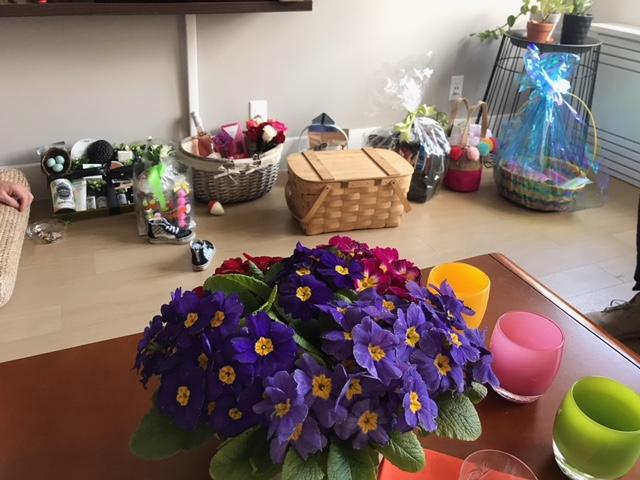 The baskets! Captured by Lara Benusis!