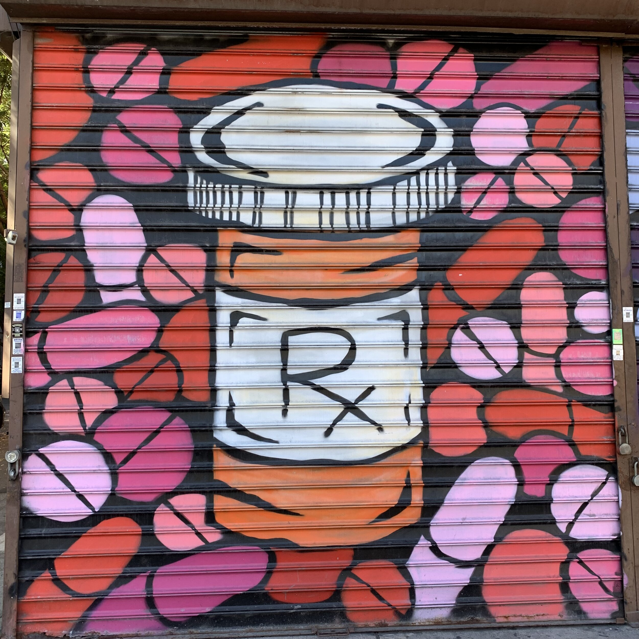 A mural on the side of a pharmacy in Harlem. Street art has my heart.