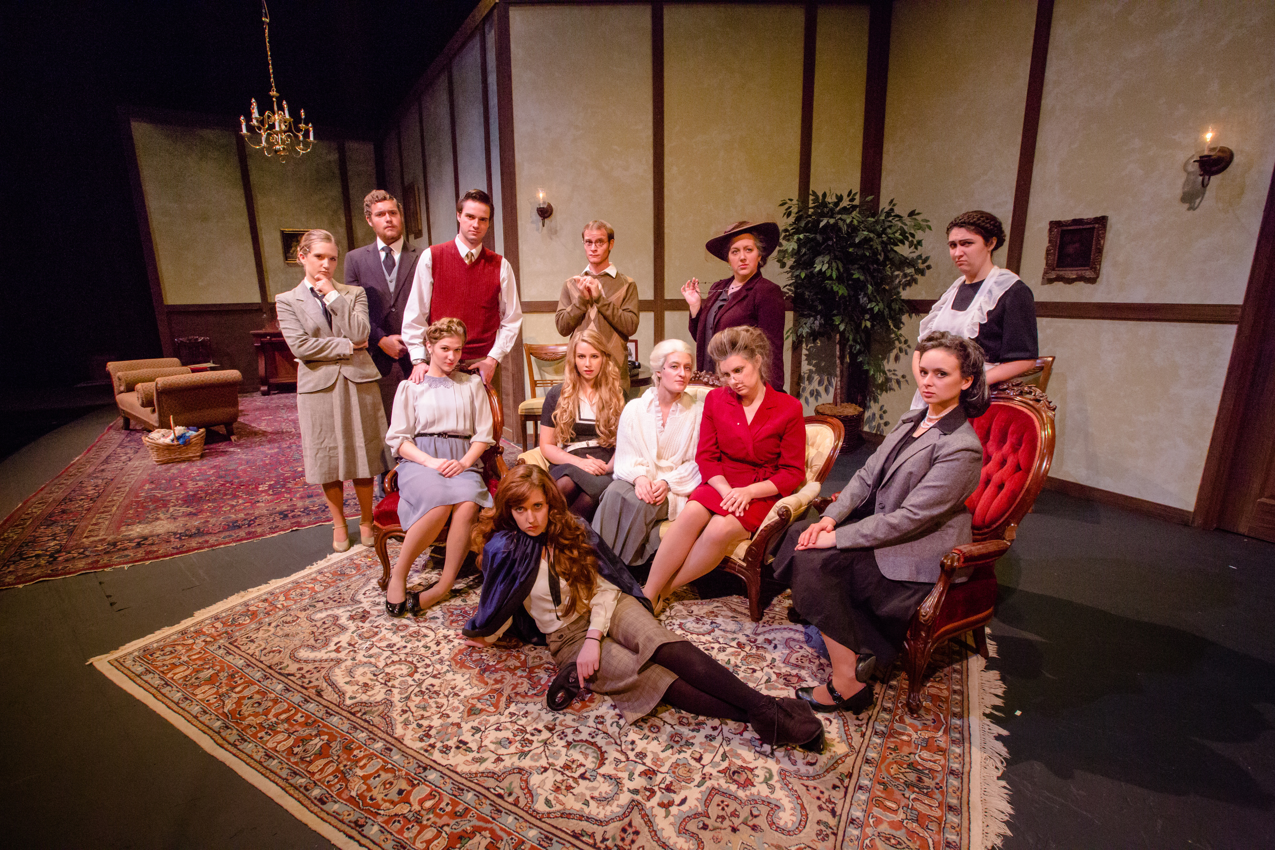 A Murder is Announced adapted by Leslie Darbon