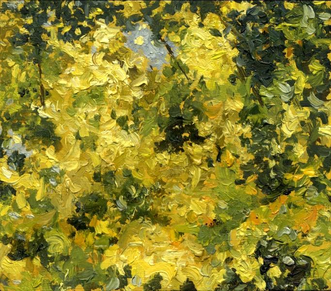 """""""7.30.2010"""", 2010, oil on linen over panel, 3"""" x 4"""""""