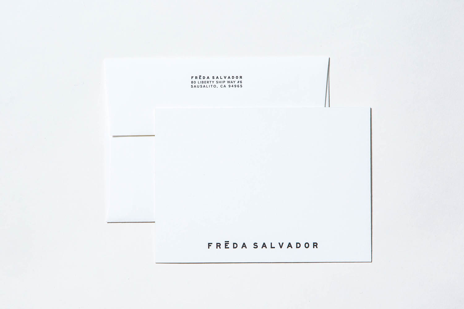 Letterpress Freda Salvador Custom Stationery