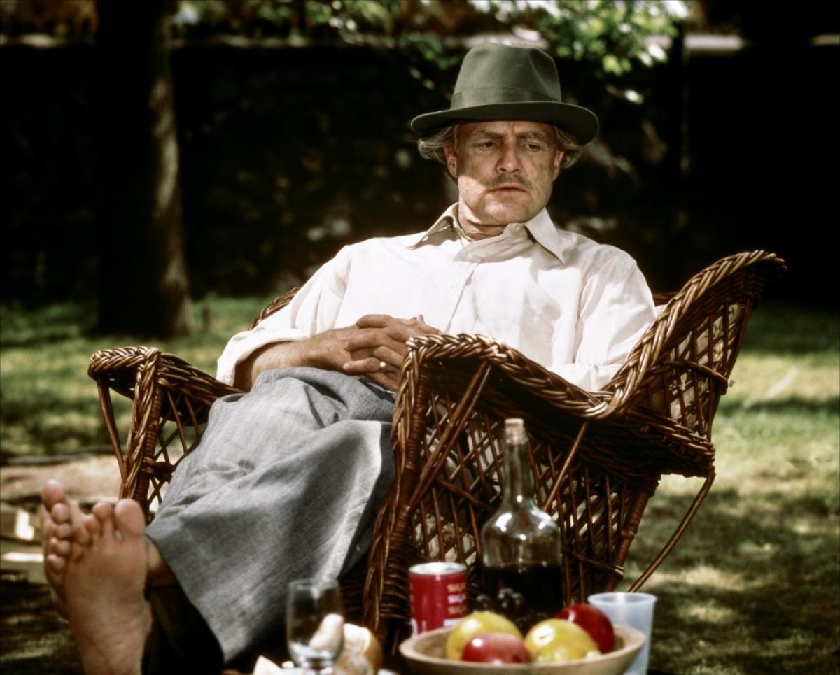 Vito Corleone's death scene in The Godfather