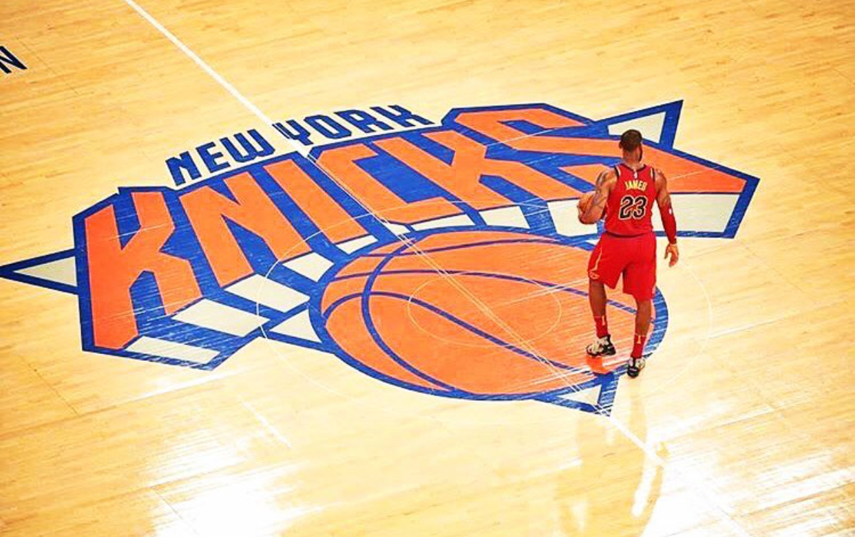 That Young Man Went to  THE GARDEN [!!!!]  and proclaimed himself as the  KING OF NEW YORK!!