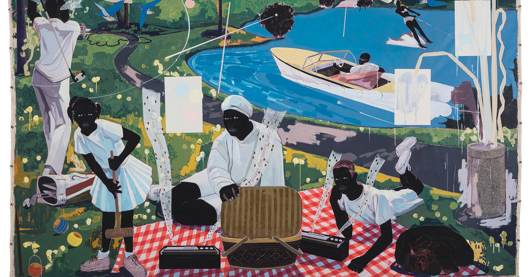 """""""Past Times"""" by Kerry James Marshall"""