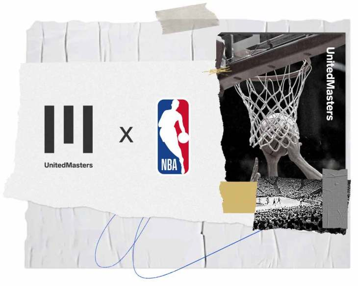 UNITED MASTERS x NBA, the new partnership allowing independent artists to shine on the NBA's digital platforms.