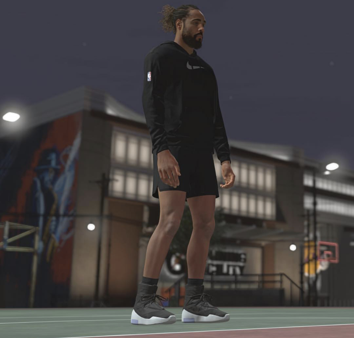 Jerry Lorenzo, round of FEAR OF GOD, in AIR FEAR OF GOD 1 in NBA2K
