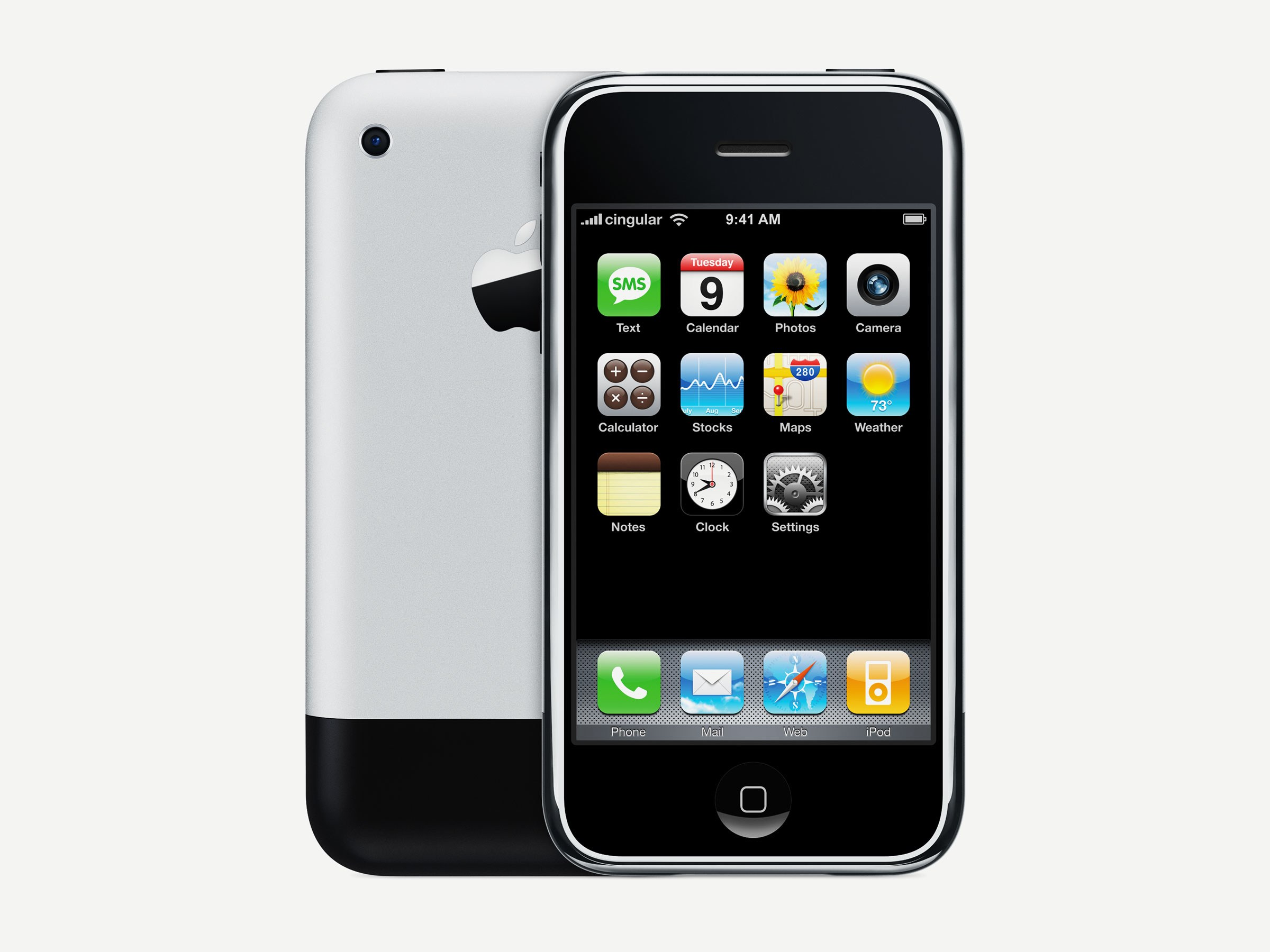 the first iPhone , man what a commodity this was
