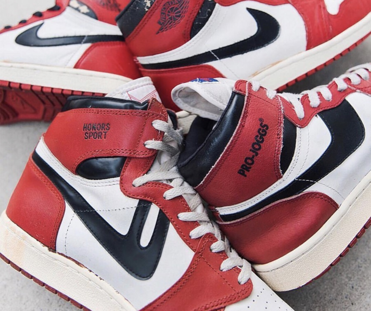 JORDAN 1s and a host of counterfeits.
