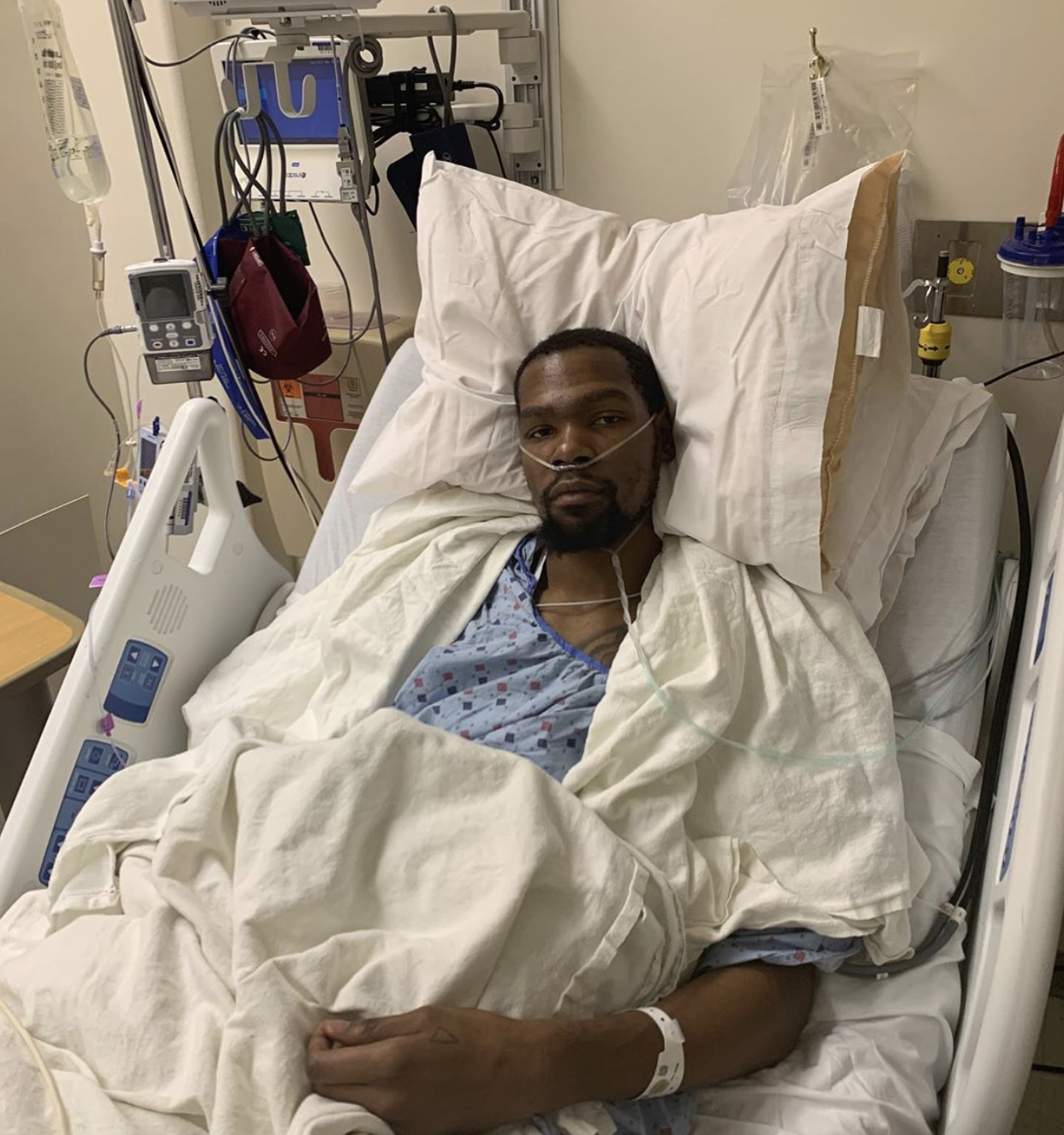 KD after a successful surgery, reassuring fans worldwide that he will be fine.