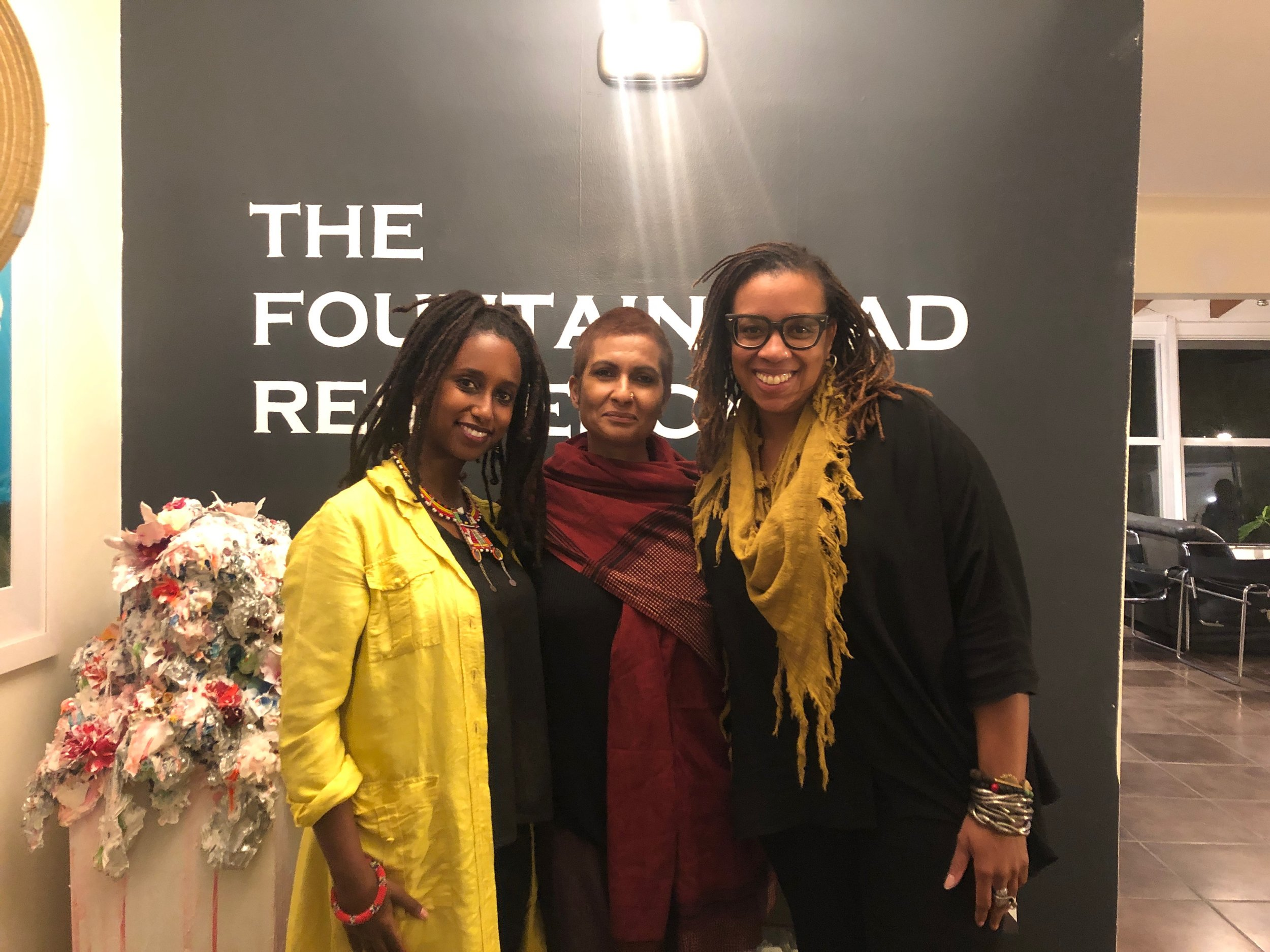 Pictured left to right; Helina Metaferia (Baltimore, MD), Renluka Maharaj (Boulder, CO), Alexandria Smith (Wellesley MA)
