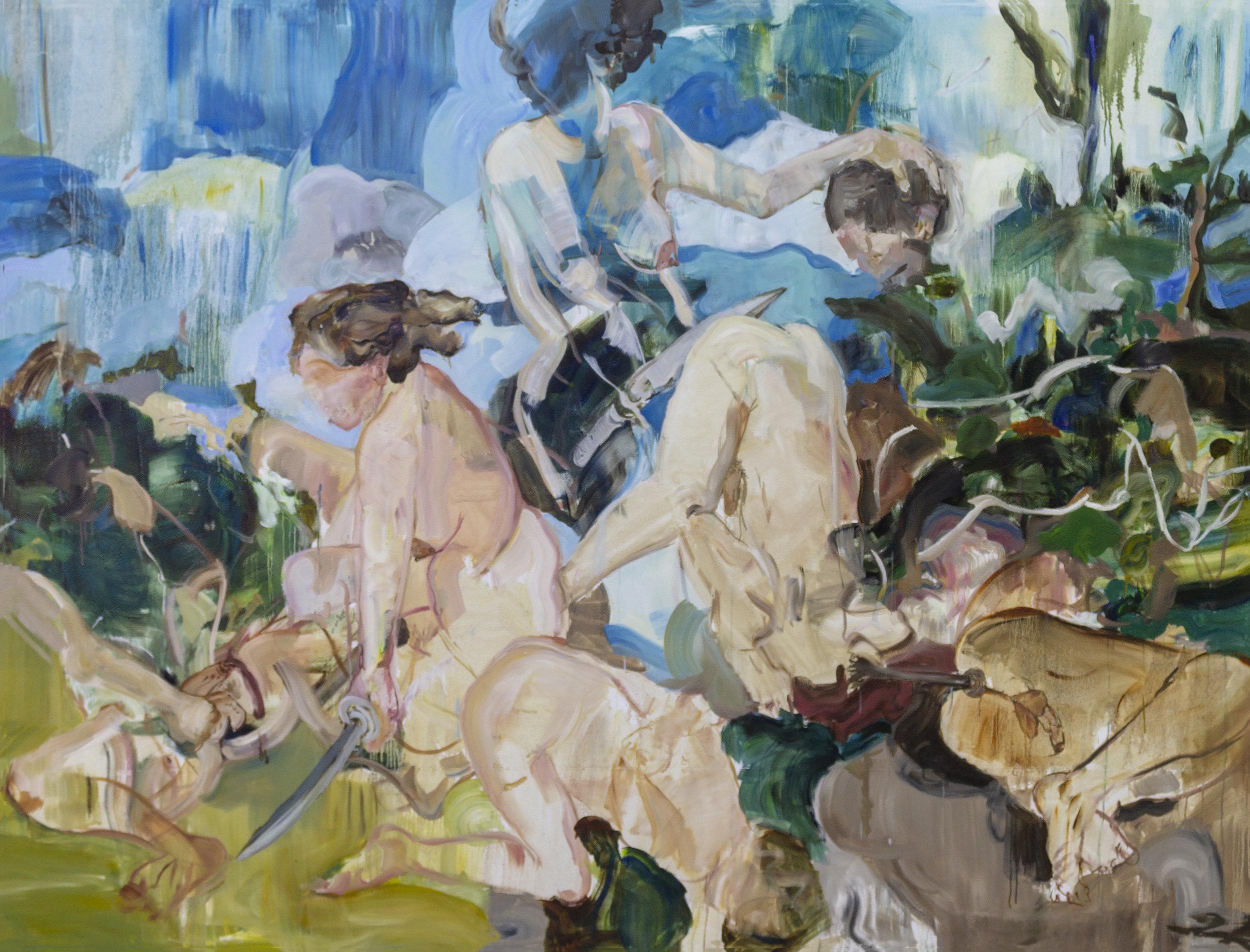 06_El rapto de las Sabinas_2019_Oil on canvas_250x190cm.jpg